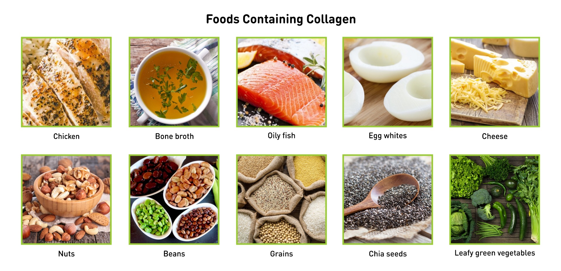 Food Containing Collagen