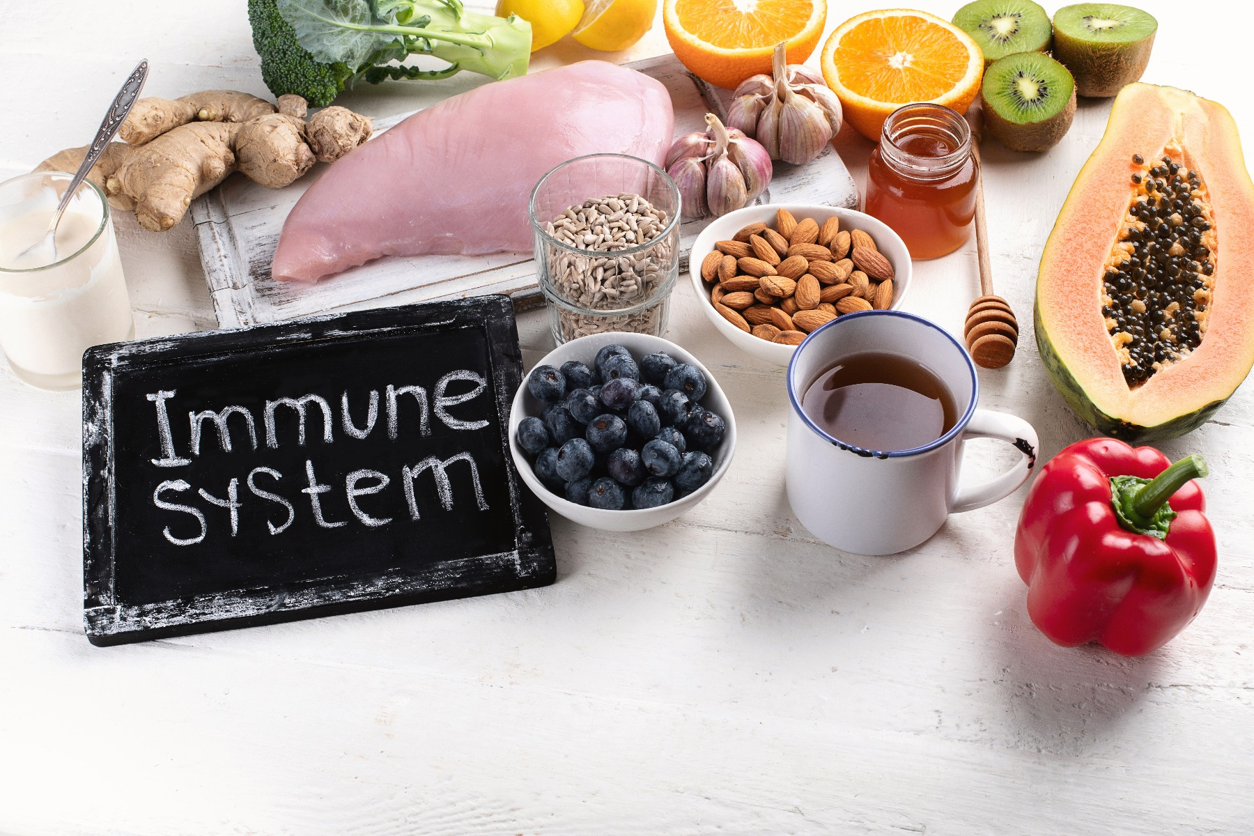 Consume Immune Boosting Foods